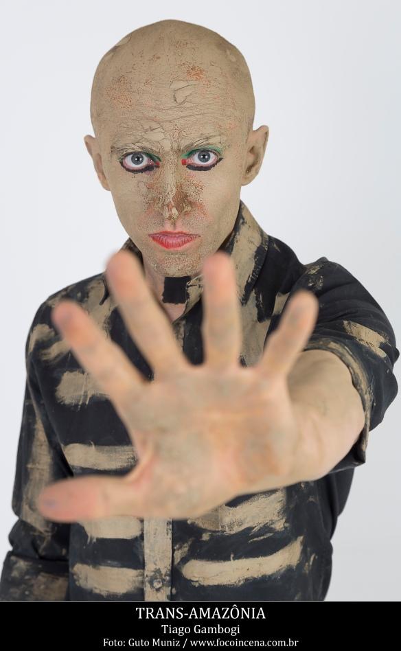 Trans-Amazônia - performer: Tiago Gambogi / Foto: Guto Muniz